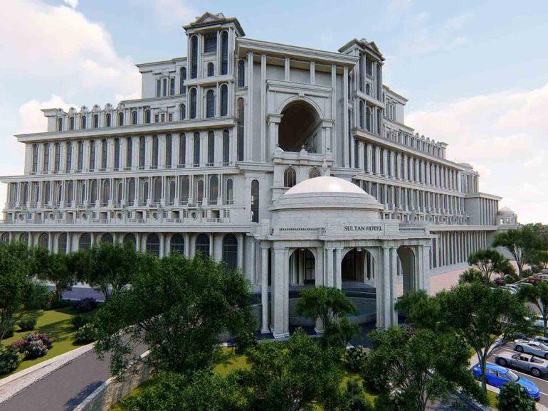 پروژه طراحی و ساخت هتل 5 ستاره سلطان (آستارا)